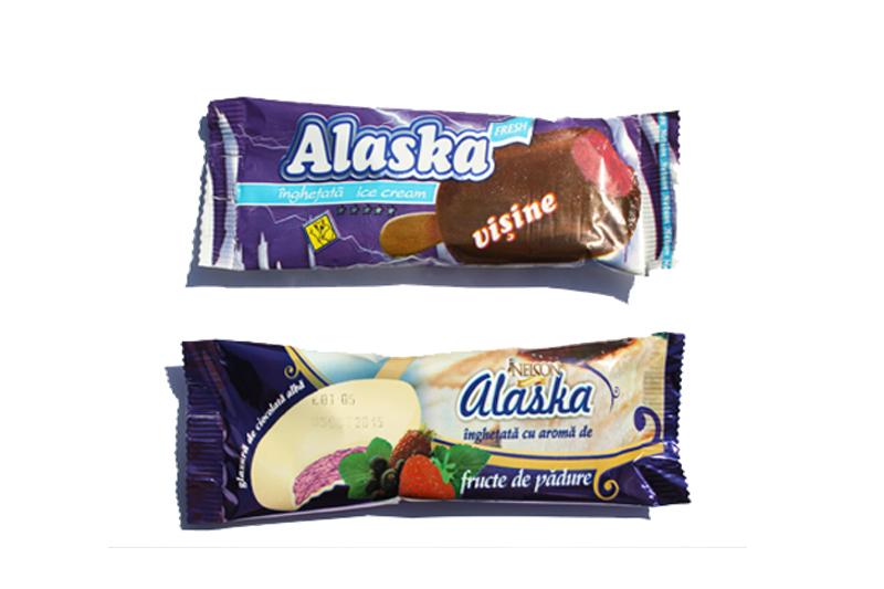Inghetata pe bat Alaska
